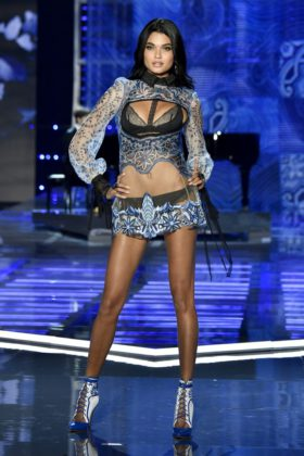 Dnaiela Braga walks the 2017 Victoria's Secret Fashion Show