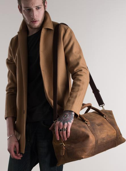 Forbes and lewis Somerset holdall leather
