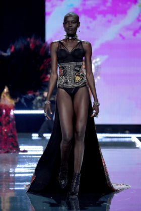 Grace Bol walks the 2017 Victoria's Secret Fashion Show