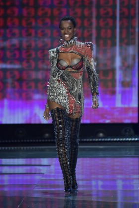 Herieth Paul walks the 2017 Victoria's Secret Fashion Show