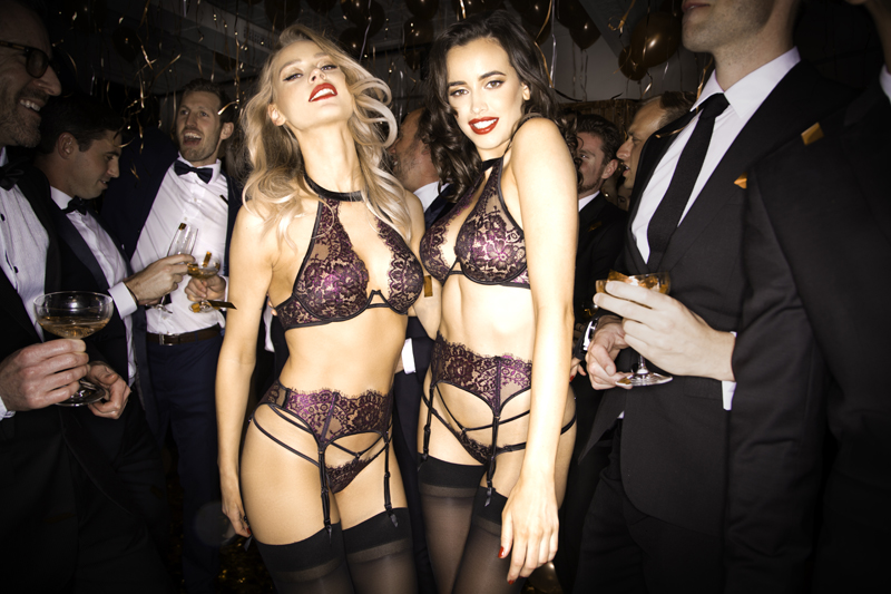 Honey Birdette sexy lingerie christmas party 03