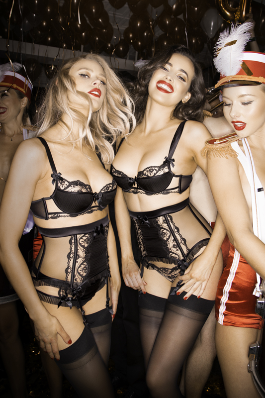 Honey Birdette Throw Wild Office Party As Part Of New