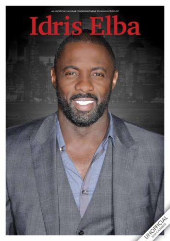 Idris Elba Unofficial A3 Calendar 2018