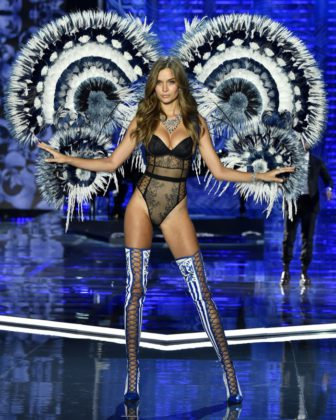 Josephine Skriver walks the 2017 Victoria's Secret Fashion Show