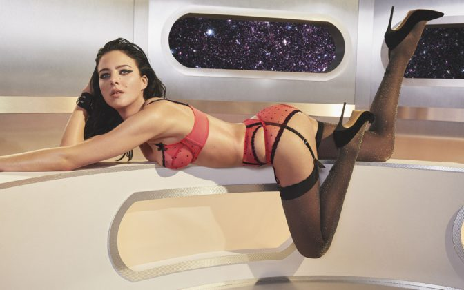 Eliza Cummings - Cosmic Christmas with Agent Provocateur