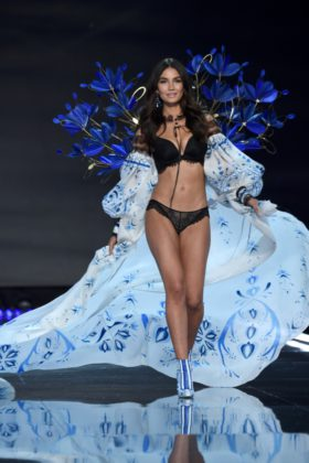 Lily Aldridge walks the 2017 Victoria's Secret Fashion Show