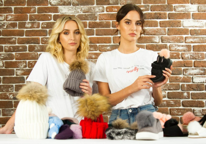 Made In Chelsea's Lucy and Tiffany Watson star in HSI video to raise awareness about real fur mislabelled as faux fur
