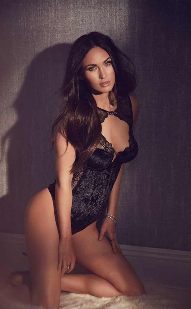 Megan Fox strips for Fredericks of Hollywood 1
