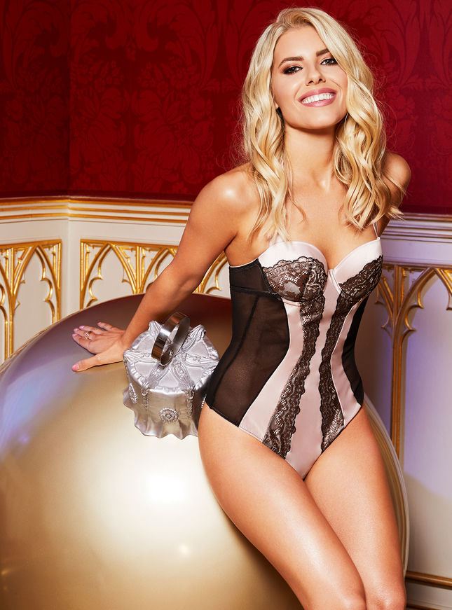 Happy Christmas from Mollie King and Boux Avenue
