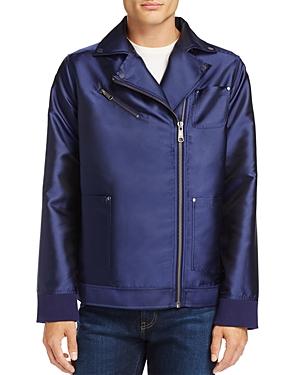Puma Fenty Oversized Satin Biker Jacket