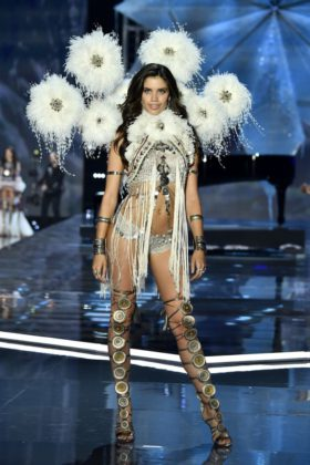 Sara Sampaio walks the 2017 Victoria's Secret Fashion Show