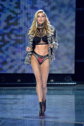 Stella Maxwell walks the 2017 Victoria's Secret Fashion Show