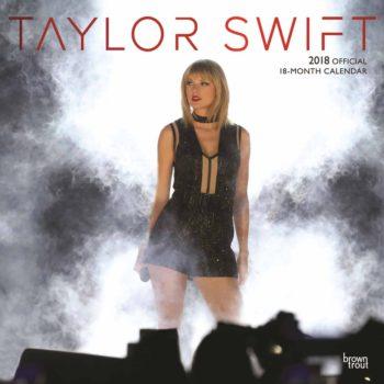 Taylor Swift Official Calendar 2018