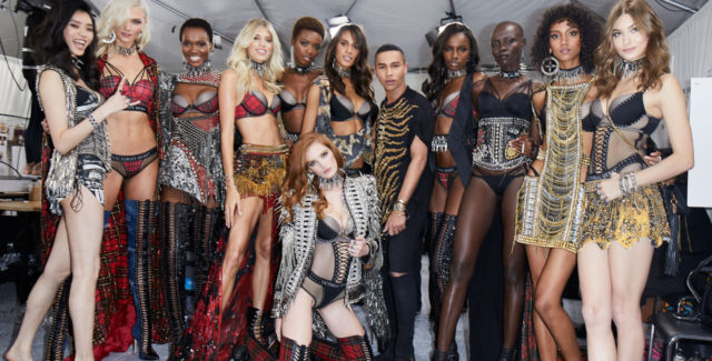 VS x Balmain Collection Backstage