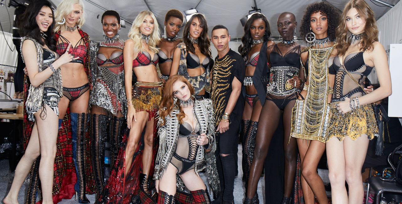 361a0c4bc2a Victoria s Secret   Balmain Paris Lingerie Collection Out Now ...