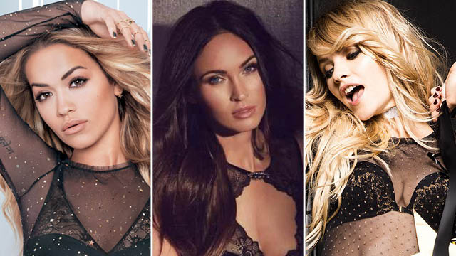 What does Rita Ora, Megan Fox and Ginta Lapina have in common this month