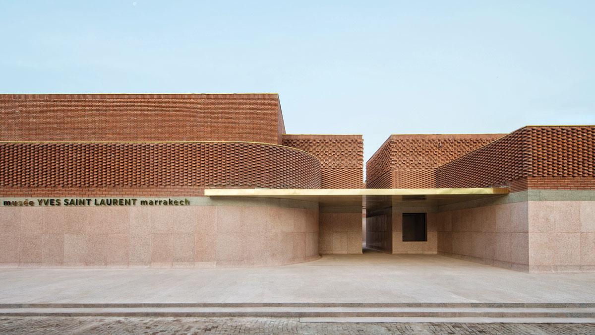 Morocco's new Yves Saint Laurent Marrakech museum. Photo by Fondation Jardin Majorelle Nicolas Mathéus