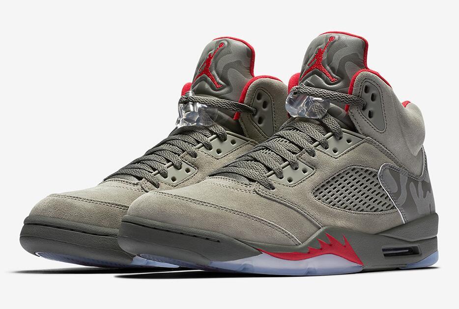 Nike Air Jordan Retro 5 Camo