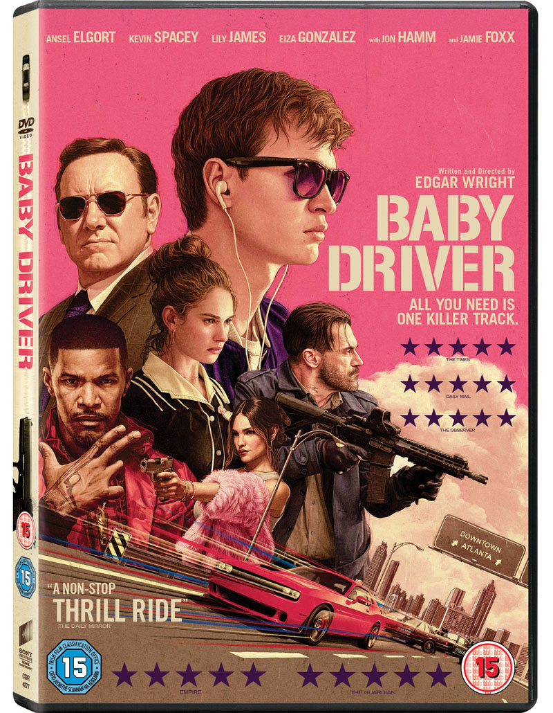 baby driver dvd case