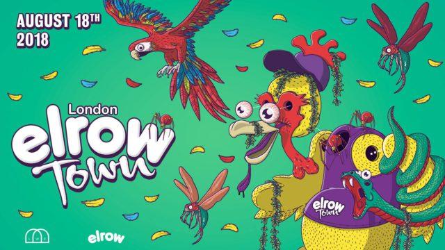 elrow town london aug 18 2018