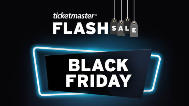 ticket master black friday sale