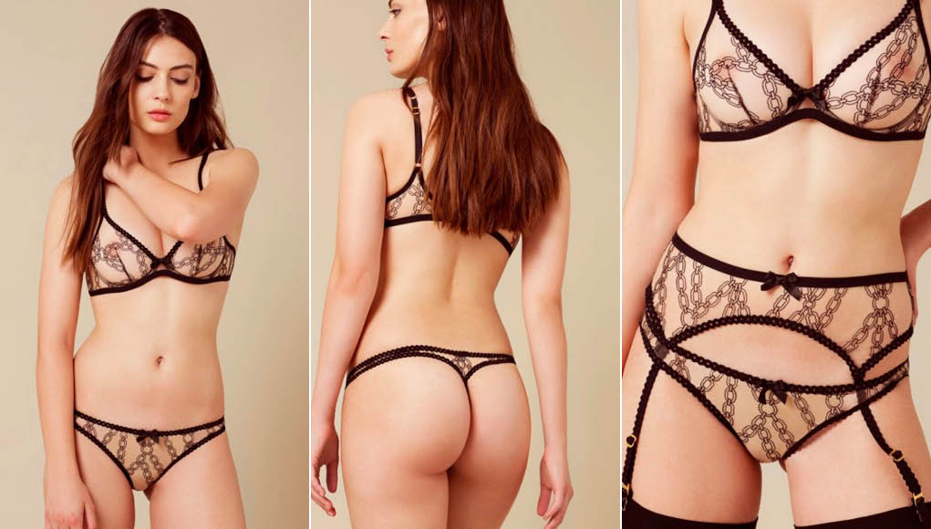 Bailey Thong Nude And Black