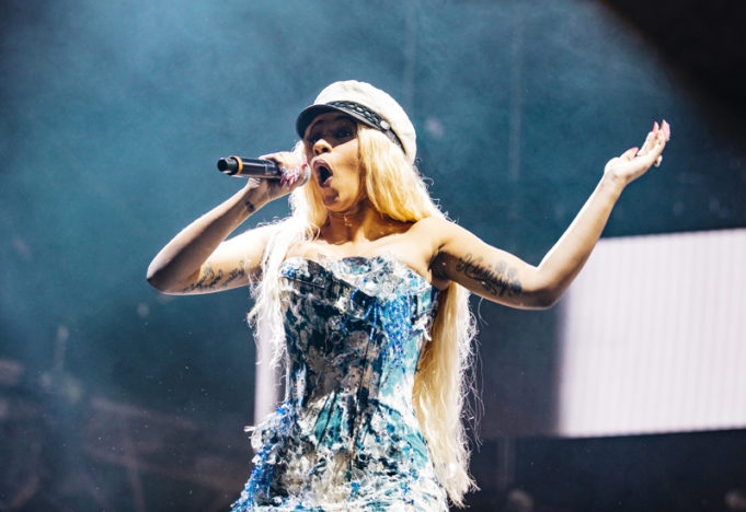 Cardi B performs at Spotify's Who We Be at Alexandra Palace 30.11.17