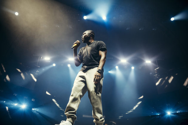 Dizzee Rascal performs at Spotify's Who We Be at Alexandra Palace 30.11.17