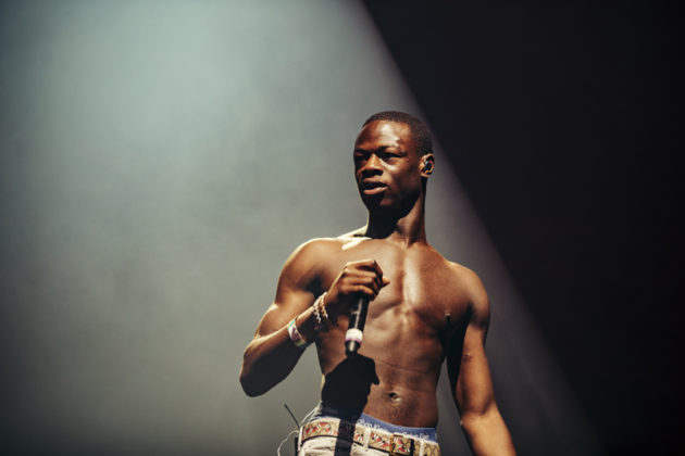 J Hus performs at Spotify's Who We Be at Alexandra Palace 30.11.17
