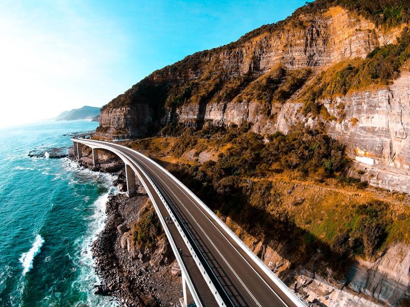 Seacliff Bridge, NSW, Australia