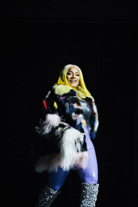 Stefflon Don performs at Spotify's Who We Be at Alexandra Palace 30.11.17