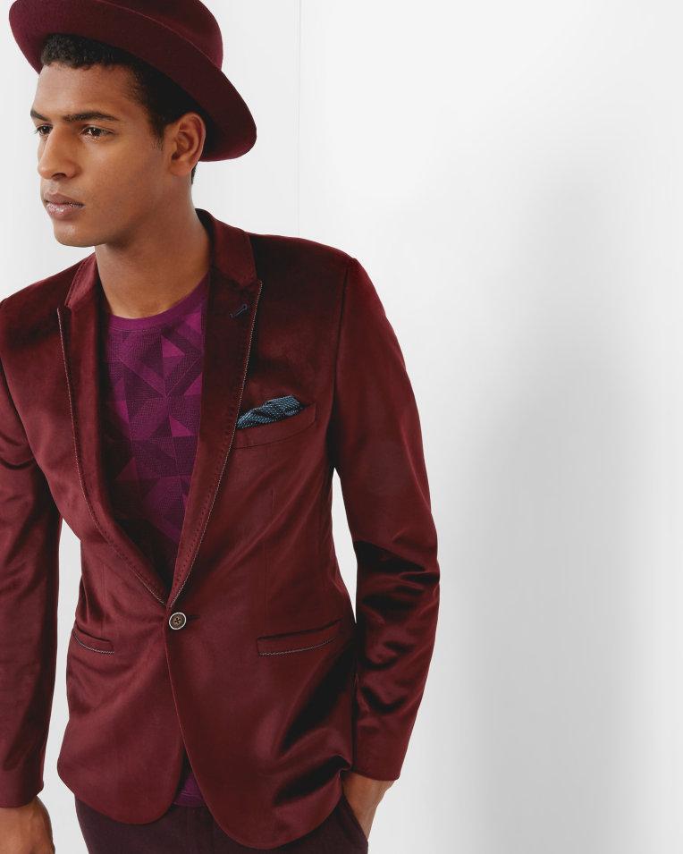 VELVETY Velvet blazer