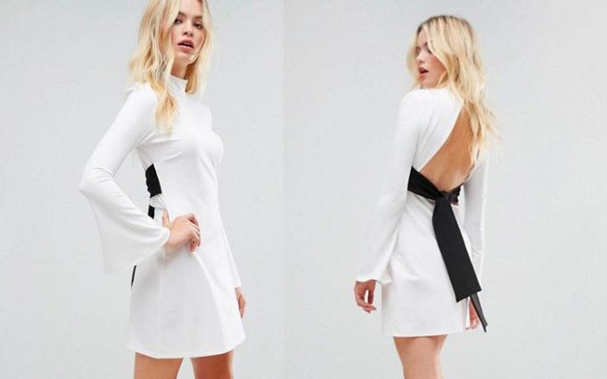 magical white christmas dresses