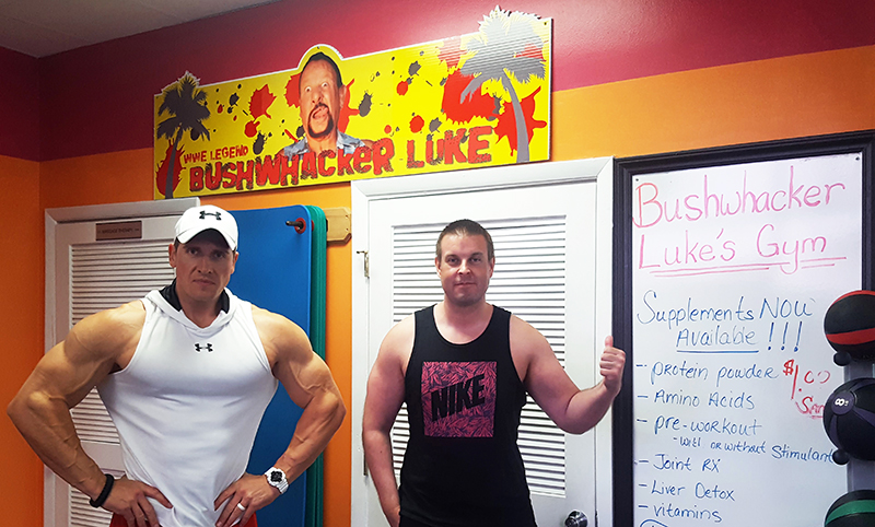 Rob Terry and Scott Felstead