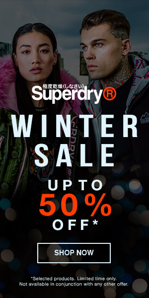 superdry christmas 50 off sale