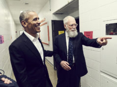 President Barack Obama David Lettermen netflix
