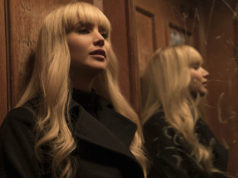 blonde bombshell Jennifer Lawrence in Red Sparrow