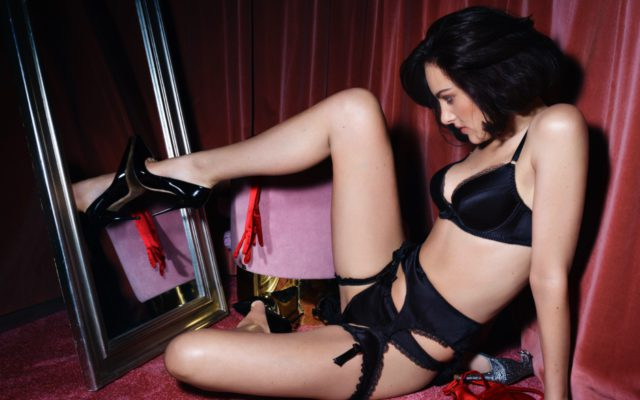 cracking the whip with agent provocateur on valentines da