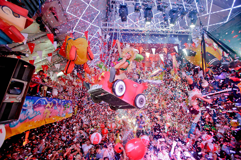 elrow ibiza amazing photos