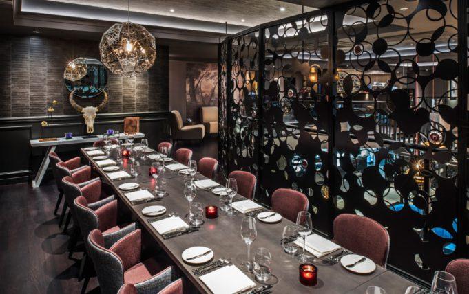 m restaurant private dining