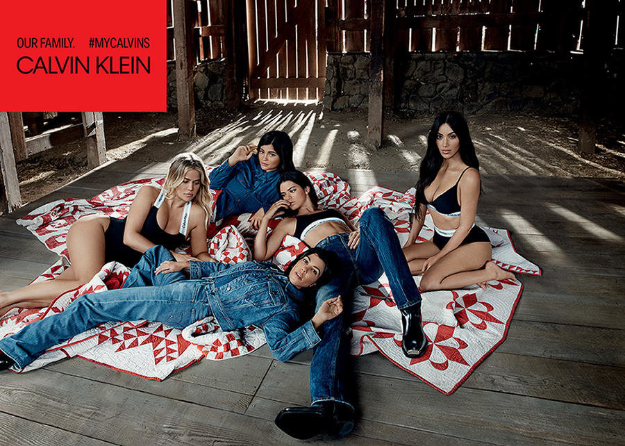 my calvins - Kardashians and Jenners