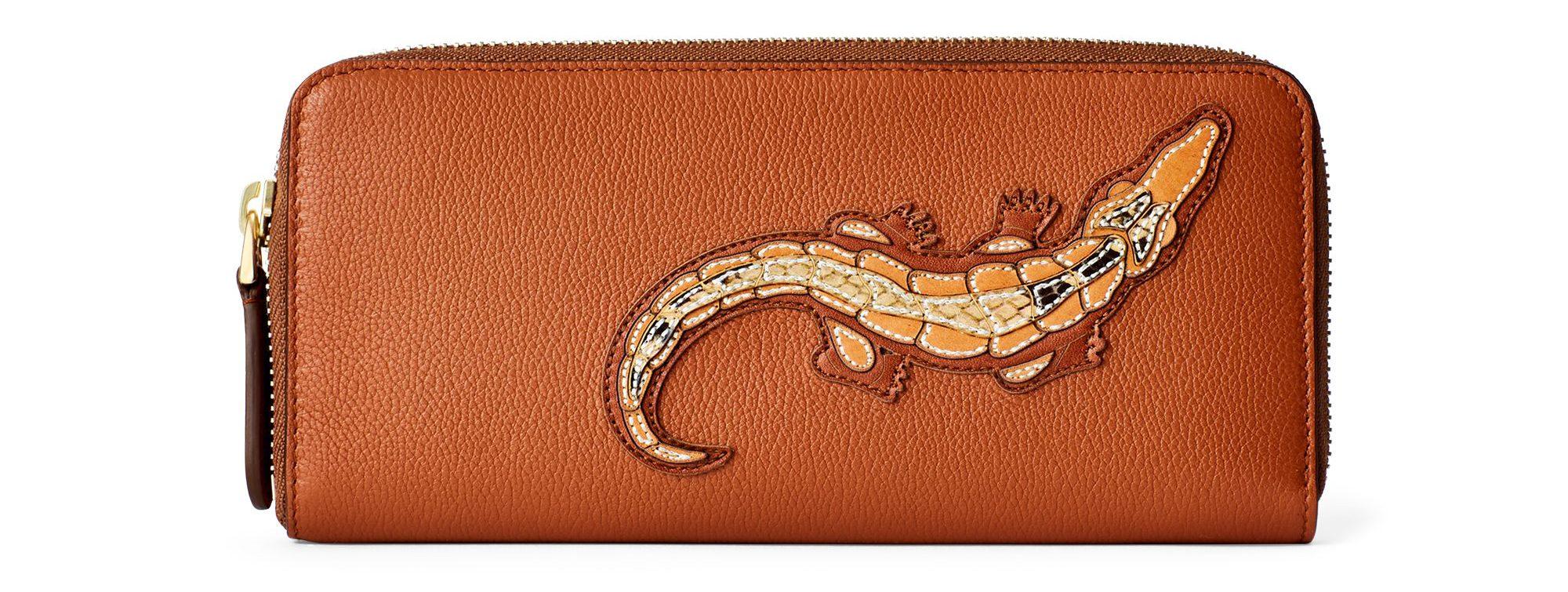 Crocodile Calf Mini Zip Pouch £330.00