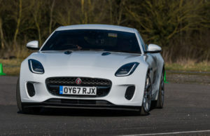 Jaguar First driving experience