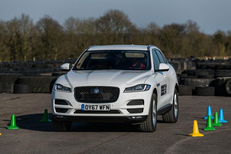 Jaguar First driving
