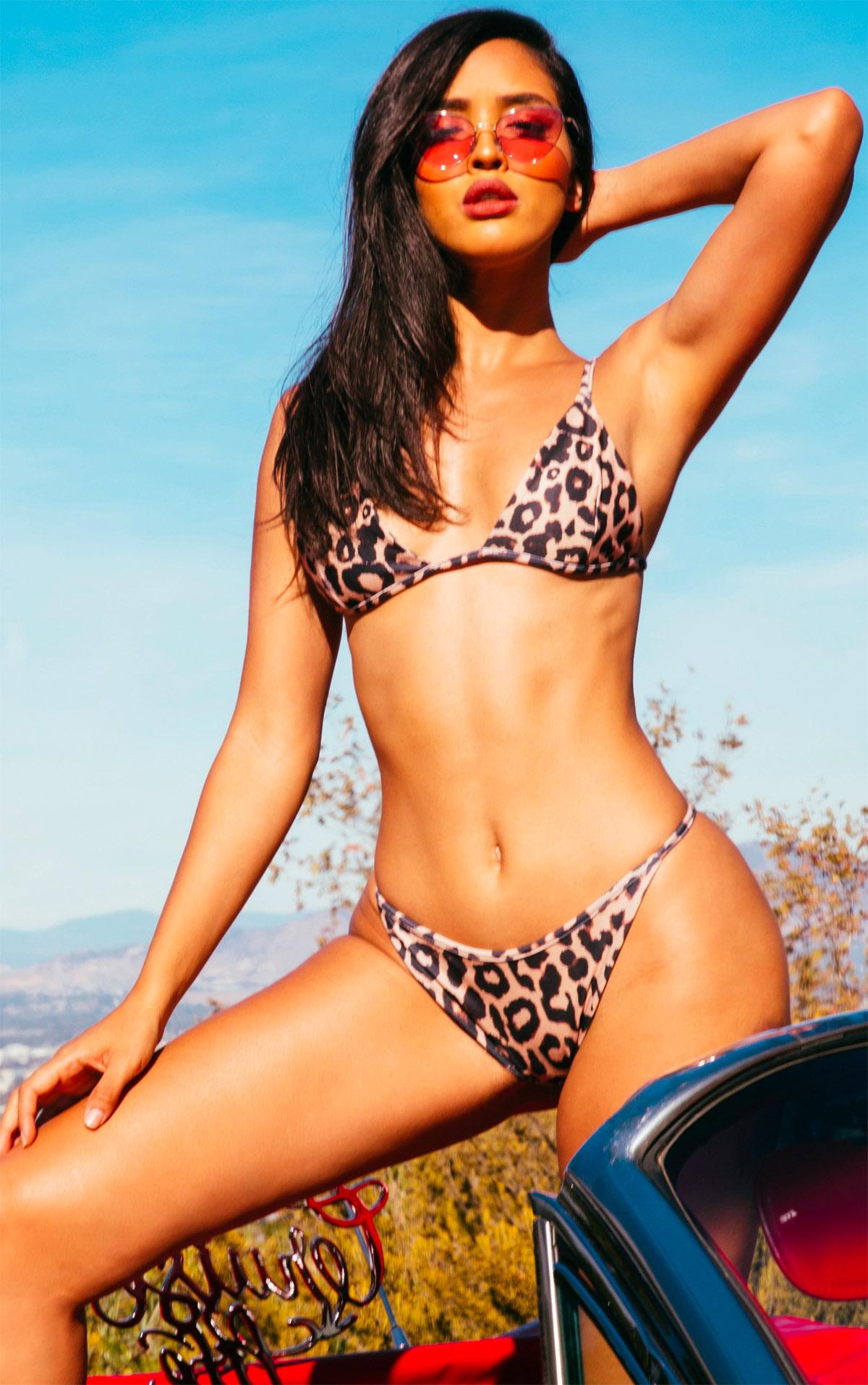 Leopard Itsy Bitsy Bikini