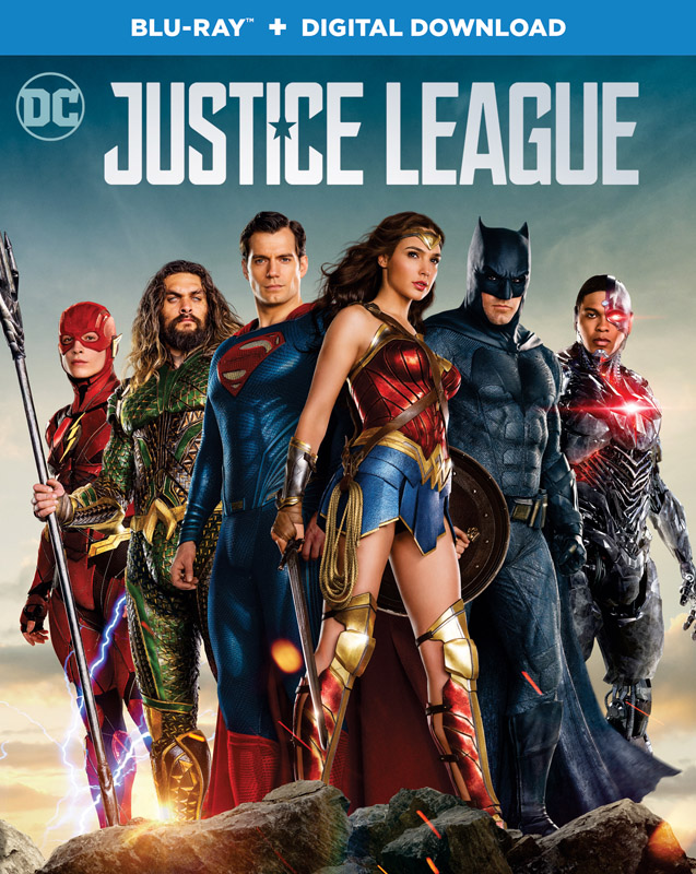 justice league blu ray case