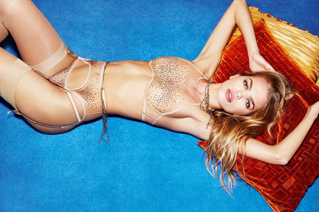 We love Agent Provocateur's Sasha collection