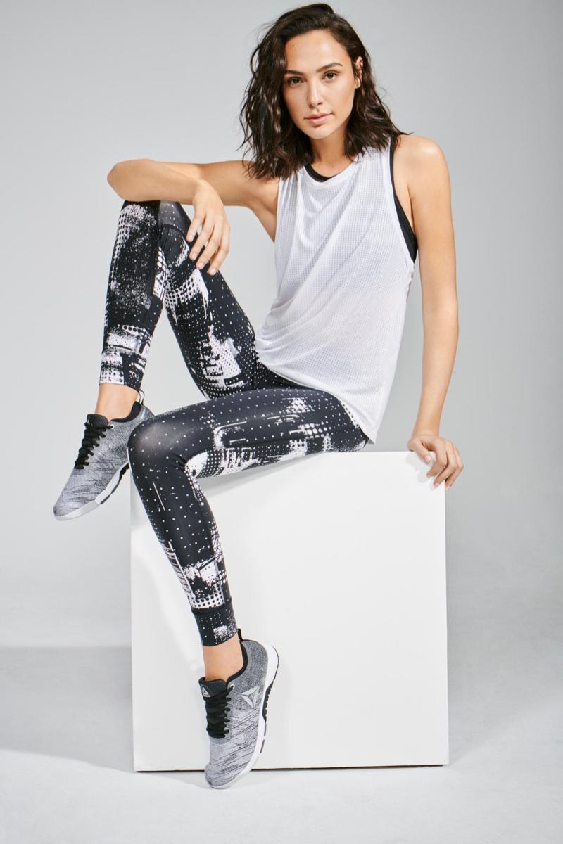 Sitting Pretty Gal Gadot stars in Reebok 'Be More Human' campaign