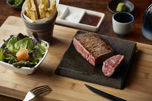 lava stone steak