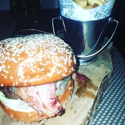 Manhattan Chuck Steak Burger